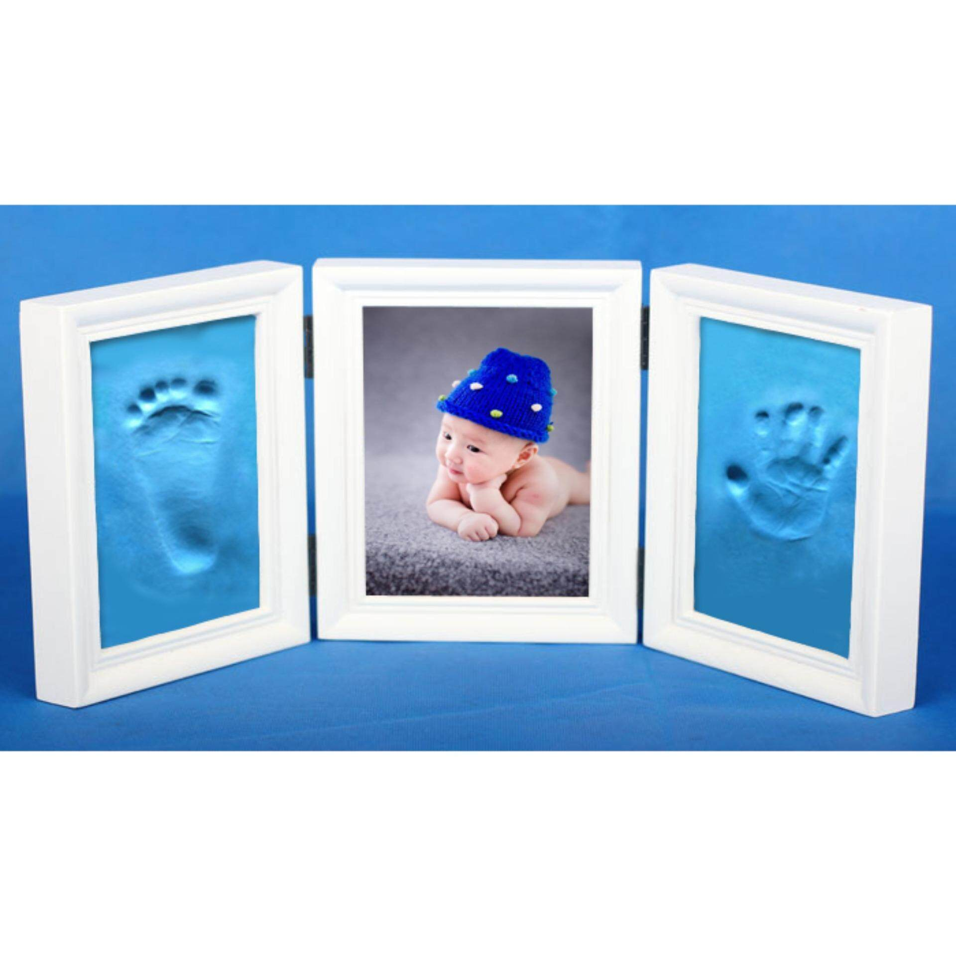 Baby Hand And Footprint +  photoframe