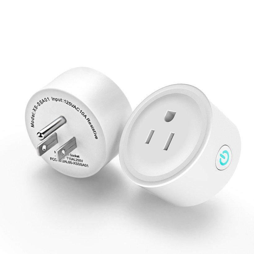 KAKA Wifi Ổ Cắm Thông Minh Điều Khiển từ xa Ổ Cắm Bền Nhà ABS Ổ Cắm Điện Thoại
