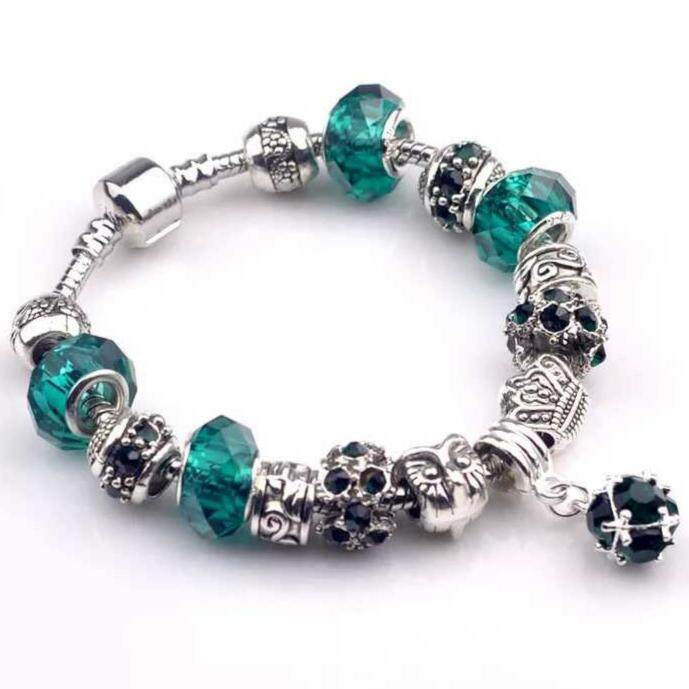 SAGE Just For You European Style Charm Bracelet
