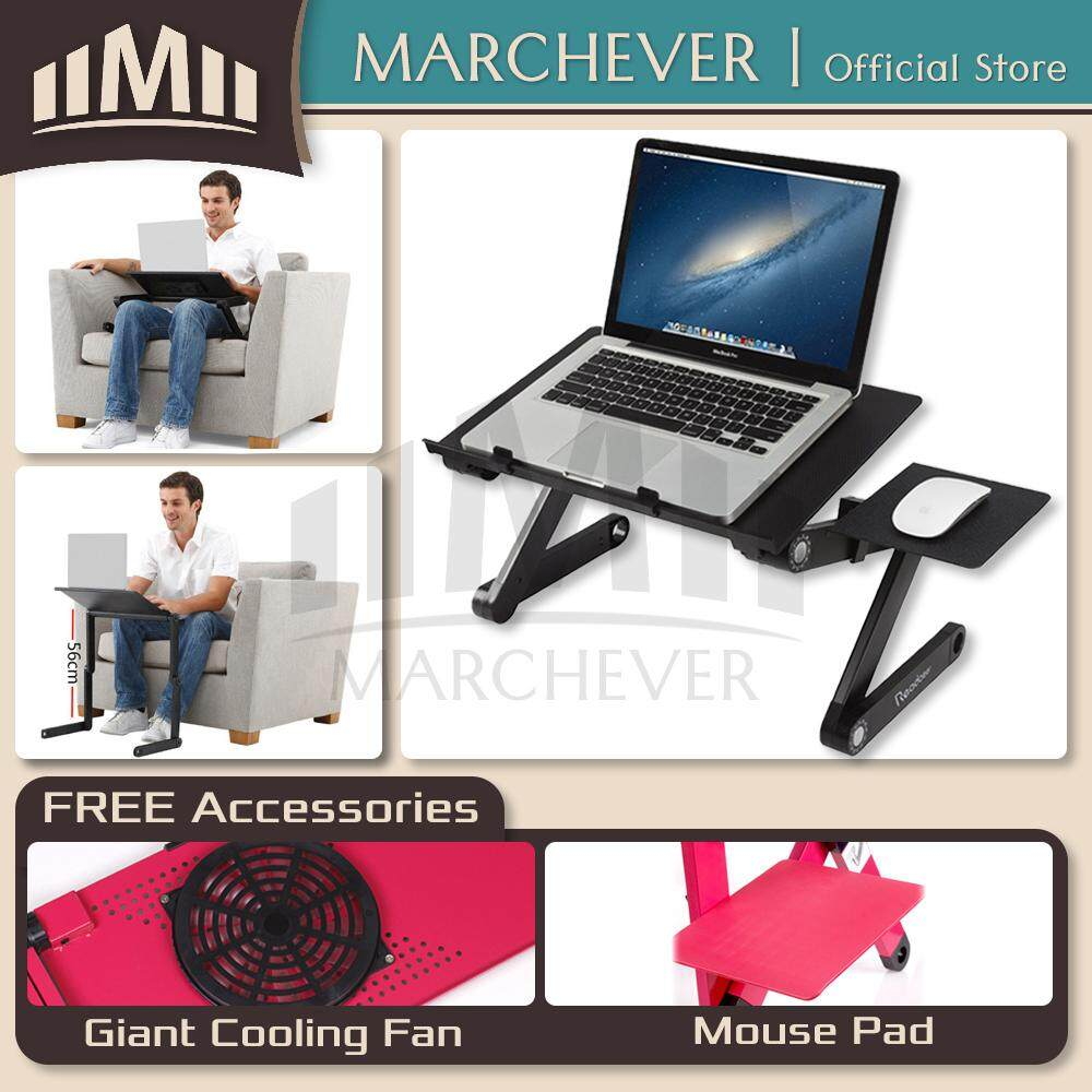 Adjustable Laptop Table Folding Notebook Table Portable Laptop Desk Cooling Pad Malaysia