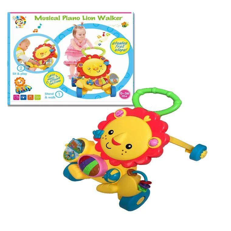 ready stocks!! Lion walker for baby , english version