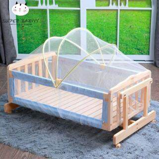 SBY Universal Baby Cradle Bed Mosquito Nets Summer Baby Safe Arched Mosquitos Net thumbnail