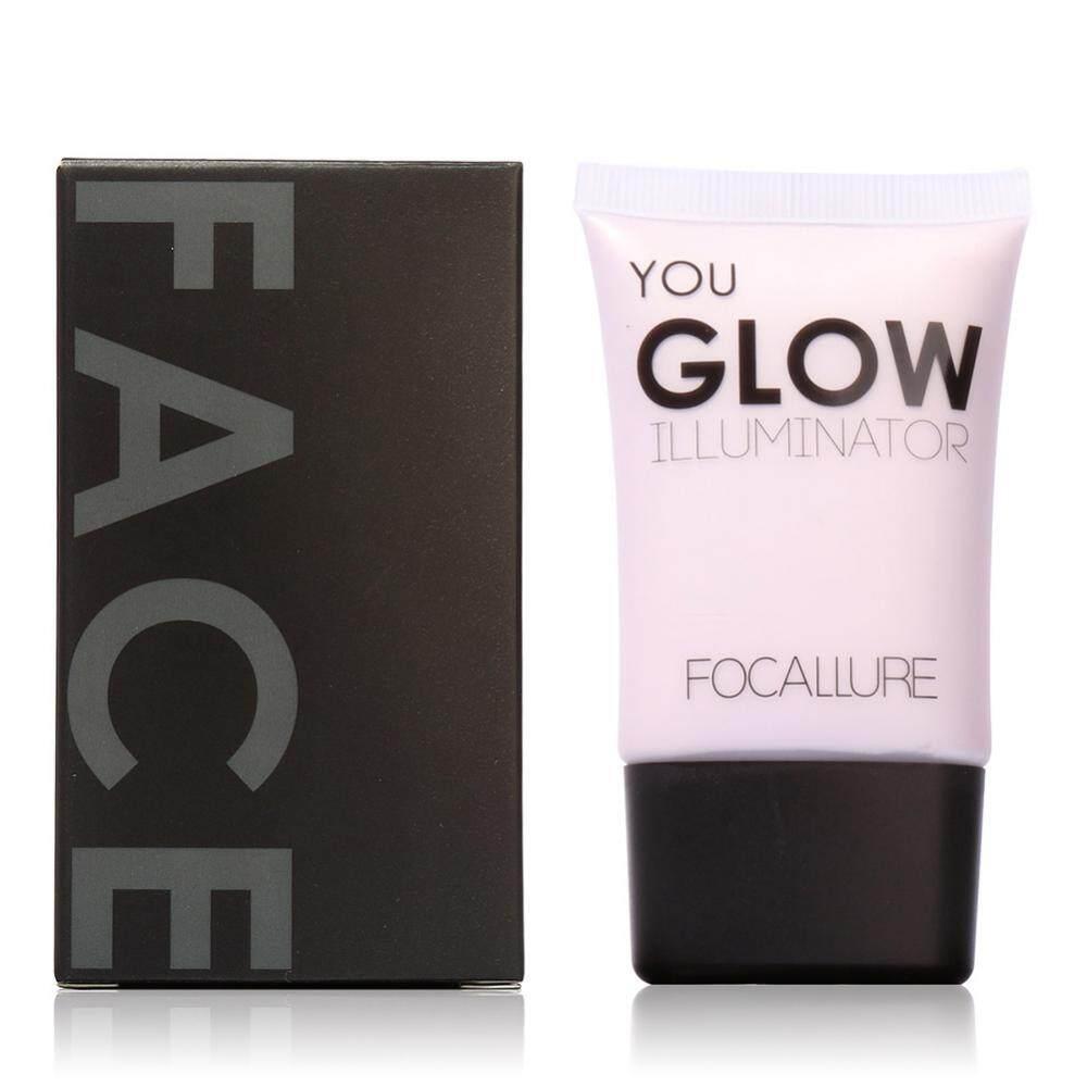 Detail Gambar Focallure Face Moisturizing Glow Illuminator Contour Highlight Liquid #1!! - intl Terbaru