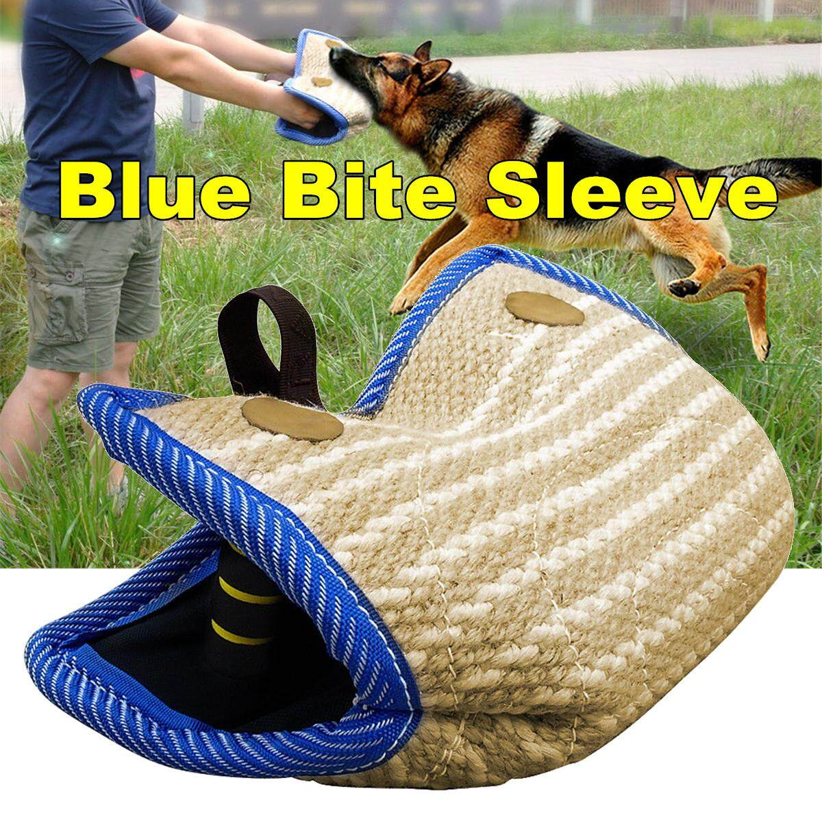 Large Dogs Training Jute Dog Bite Sleeve Tug For Police K9 German Shepherd Dog By Moonbeam.