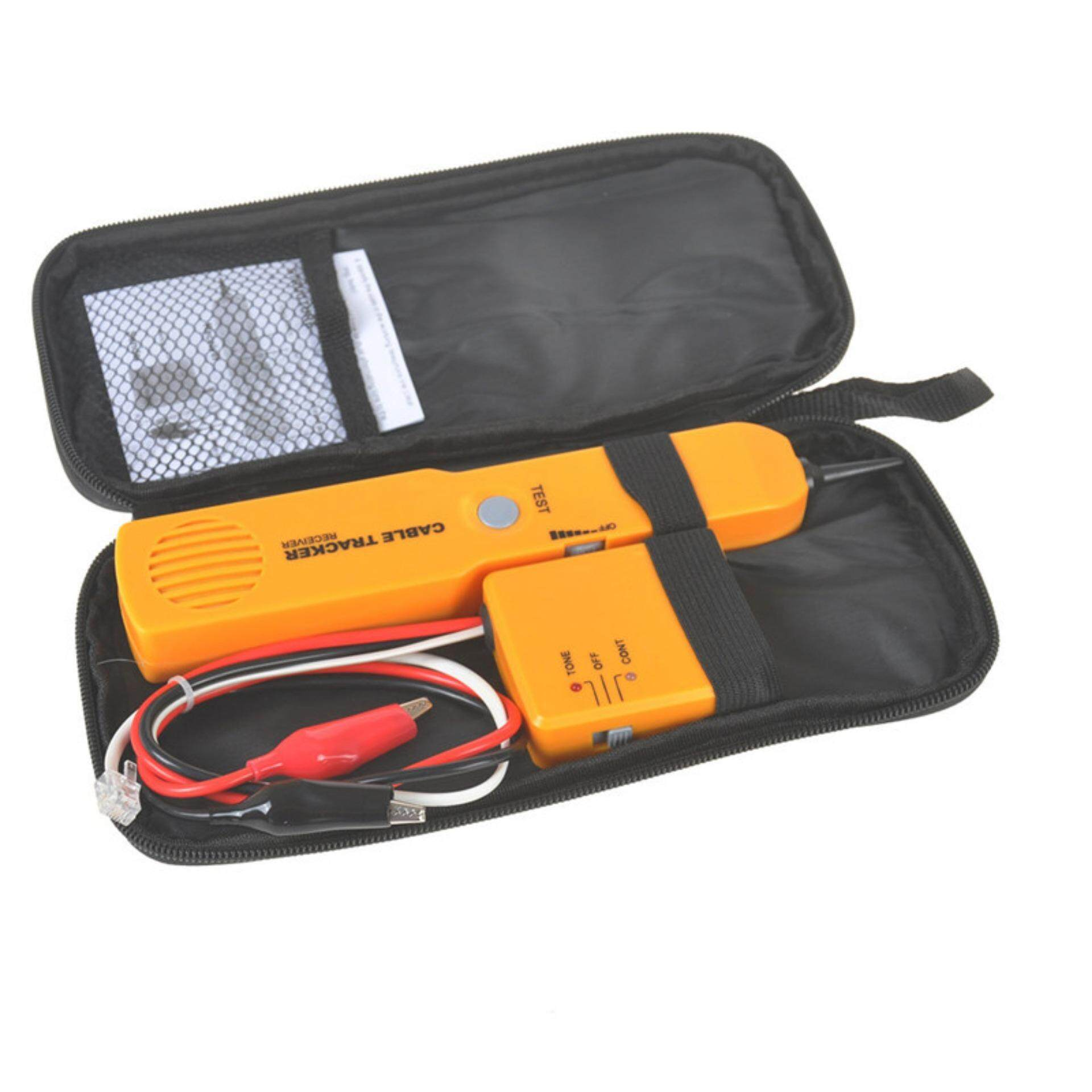 Sissi Rj11 Wire Tone Generator Probe Tracer Network Tracker Line Finder Cable Tester