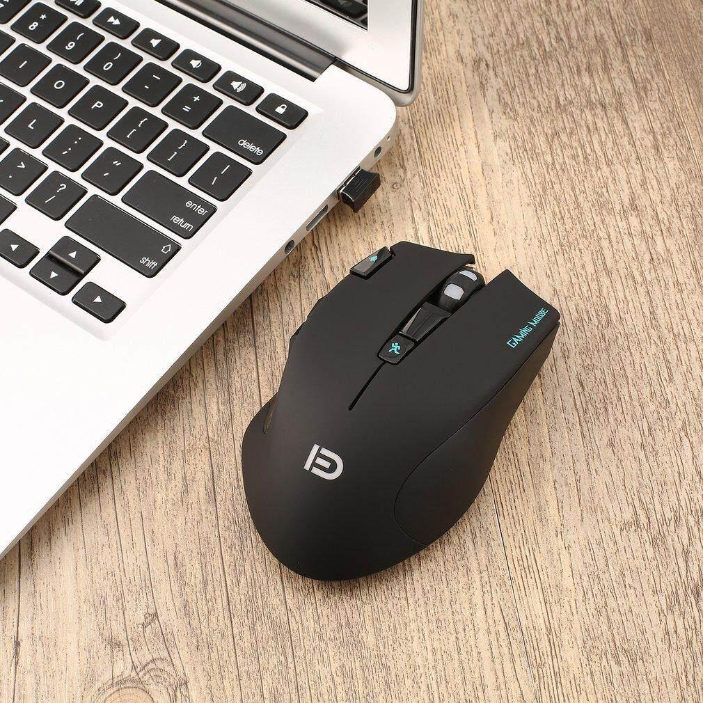 Chunnuan Profesional Gaming Mouse Nirkabel Kecepatan Tinggi 500 MHz Mouse Gaming dengan X2 Tombol dengan Colorful