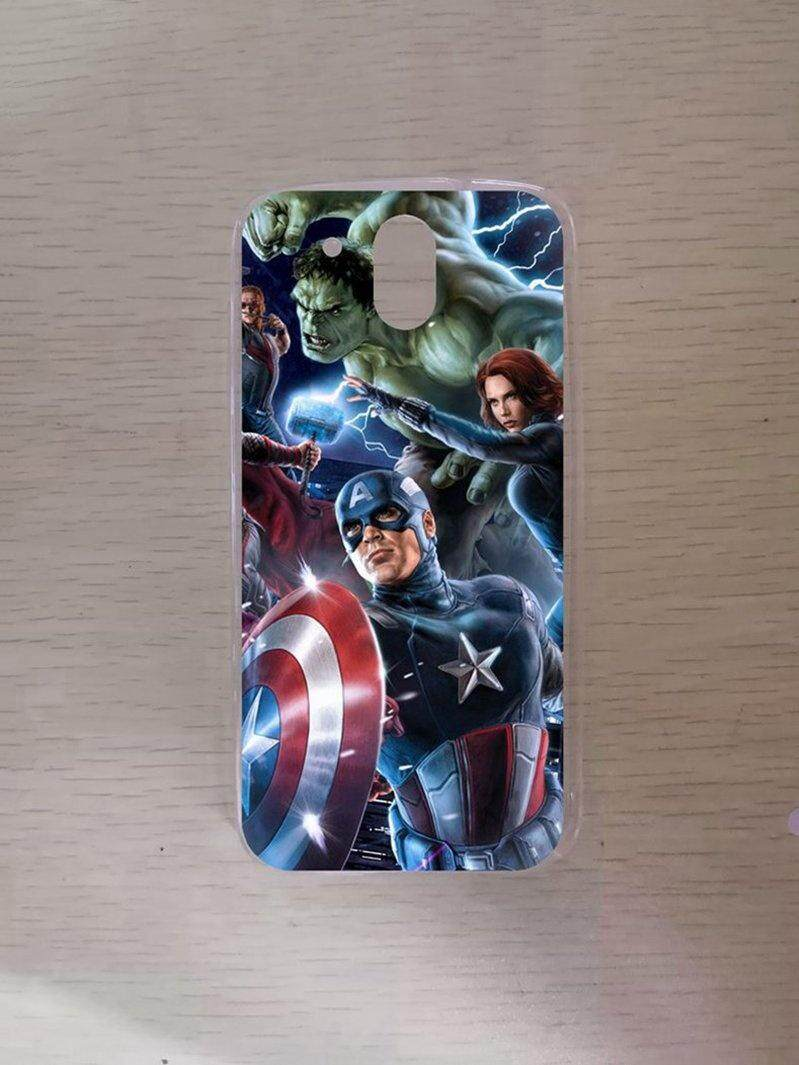 Avengers Captain America Silicon High Quality TPU Soft Case Cover For HTC Desire 526 - intl