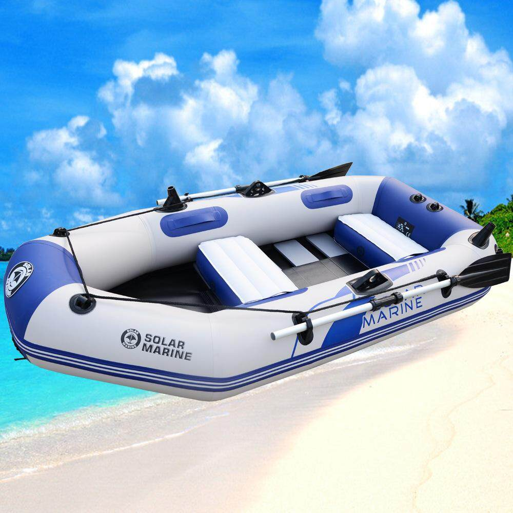 New Rafting Boat Three People Inflatable Boats Fishing Nets Two Kayaking  Boats