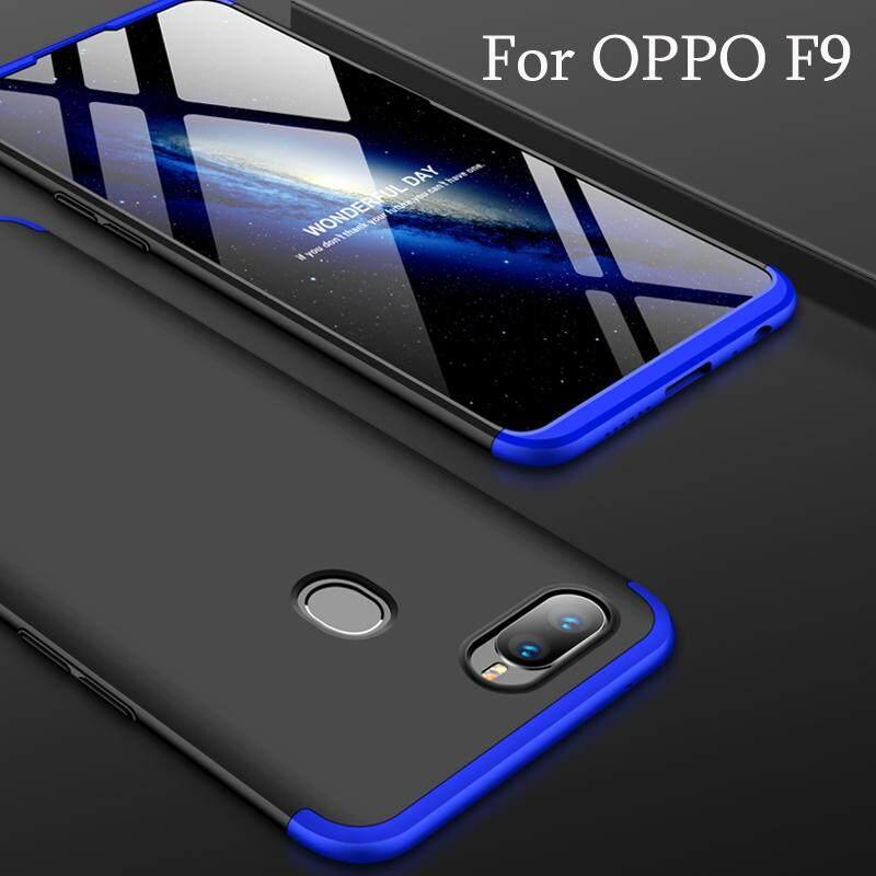 Pelindung Casing Ponsel untuk OPPO Realme 2 Pro 5D Tertutup Penuh Pelindung Layar untuk OPPO F9 Shockproof 360 Penuh Perlindungan Hard Cover HP casing Pengiriman Gratis