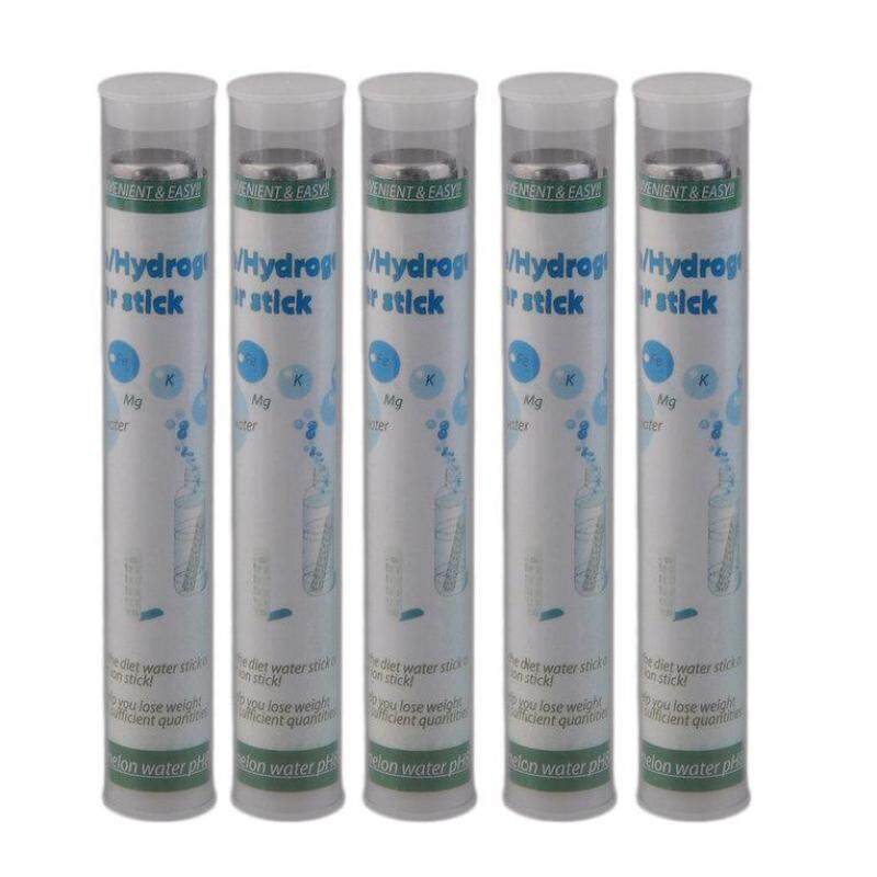 OSMAN 5pcs Portable Water Stick PH Alkalizer Ionizer Hydrogen Minerals Wand Filter