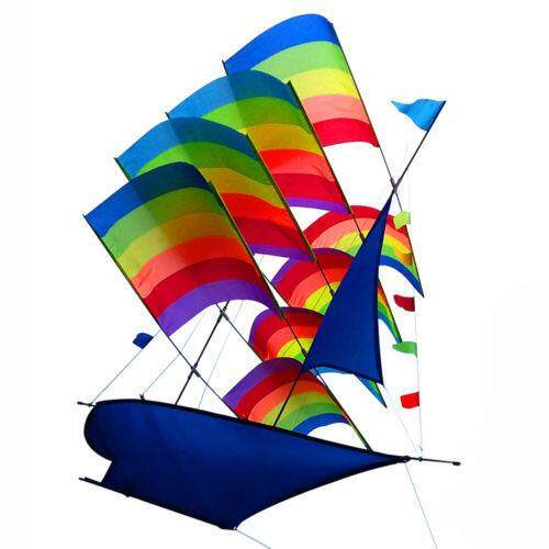 Giá Quá Tốt Để Mua Rất Lớn 3D Rainbow Thuyền Buồm Chiếc Diều Bay Ngoài Trời Trẻ Em Thể Thao Trẻ Em Trò Chơi Hoạt Động
