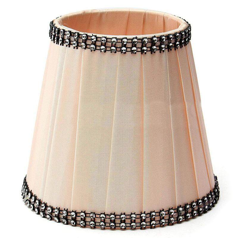 Lampshade for sale lampshades prices brands review in fabric chandelier lampshade holder clip on sconce beside bed lamp hanging light apricot intl keyboard keysfo Gallery