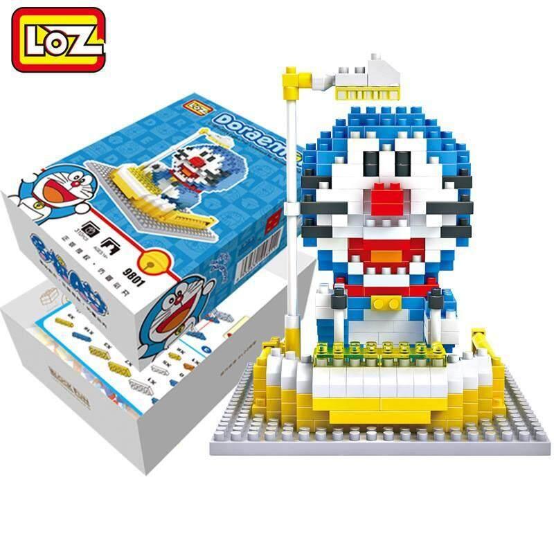 LOZ DIY Doraemon Nanoblock Puzzle 1