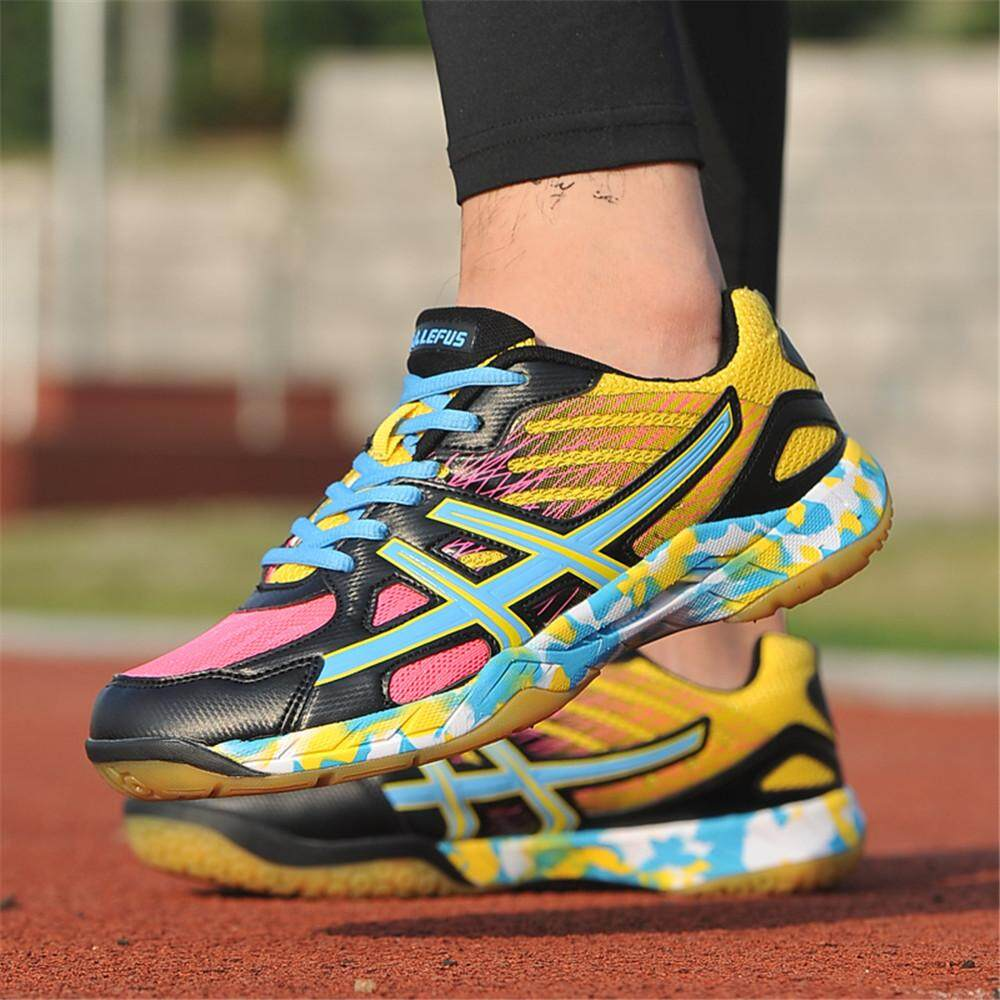 65703a6db9c4f9 New Indoor court Badminton tennis Shoes Sneakers Wide Safety Training Shoe  35-45