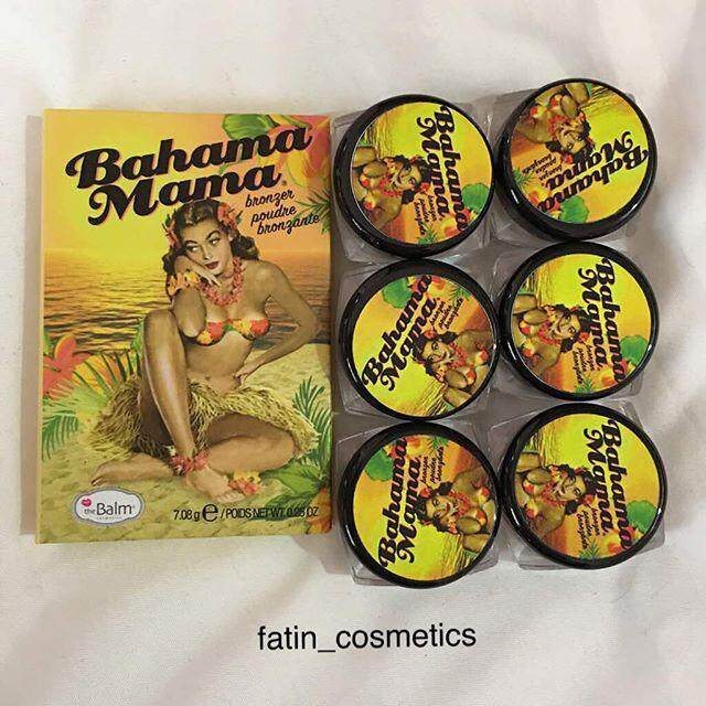 The Balm Bahama Mama Bronzer (original) By Royal Sabah.