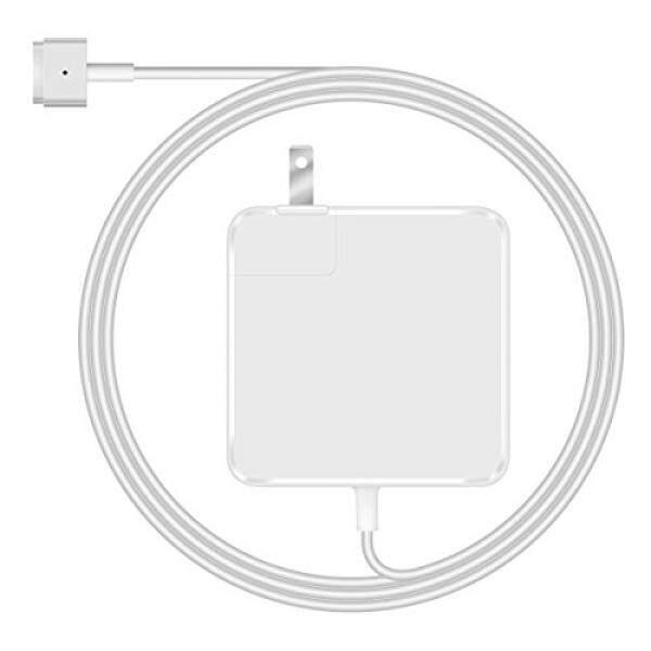 MacBook Pro Charger unik Cerah 60 W MagSafe 2 Power AC Pengisi Daya Adaptor T Tip untuk 13 Macbook Inci Pro (Setelah Akhir 2012) -Intl