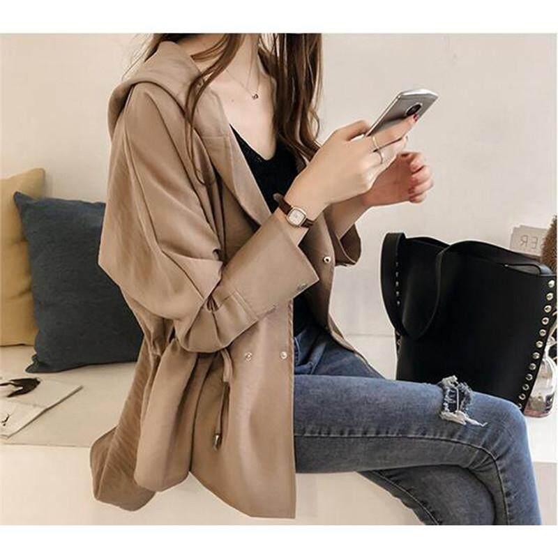 Baru Wanita Kasual Dasar Musim Dingin Atasan Musim Gugur Jubah Jaket  Bustier Wanita 19ff731859