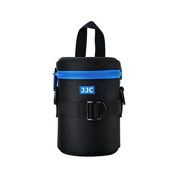 JJC Deluxe Lens Case Pouch Bag for Canon EF 28-200mm EF-S 17-55mm/17-85mm,Nikon Nikkor 18-200mm/18-105mm/AF-P 70-300mm,Sony E 55-210mm and other Lens below 3.15