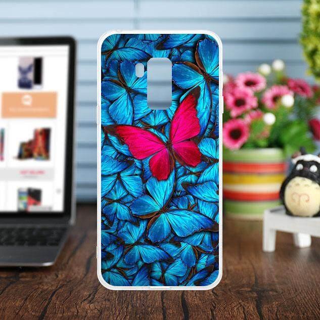 Akabeila Silikon Casing Ponsel Cover untuk Bluboo S8 Plus 6.0 Inch Case Lembut TPU Fashion Multi Warna Shell Pelindung Case Anti -Knock Perumahan Ultra Ramping Sarung Fleksibel Smartphone Hood Kulit