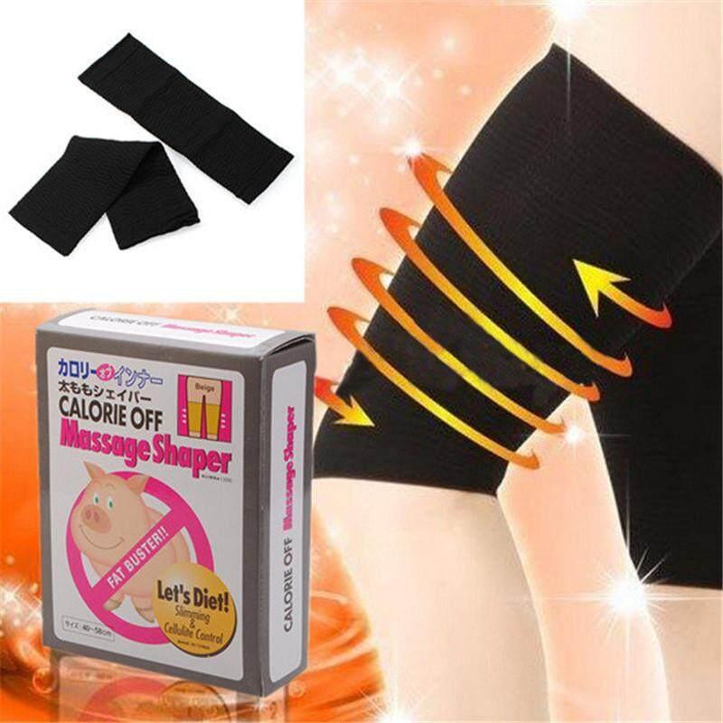 Hot Slim Slimming Thigh Leg Calories Off Massage Shaper Socks By Glimmer.