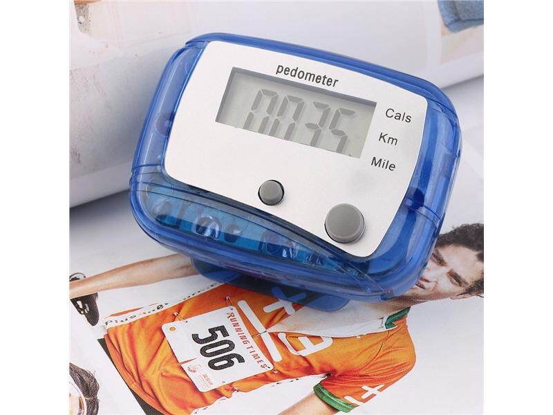 Hình ảnh Lightweight Mini Digital LCD Pedometer Run Jogging Step Walking Distance Counter - intl