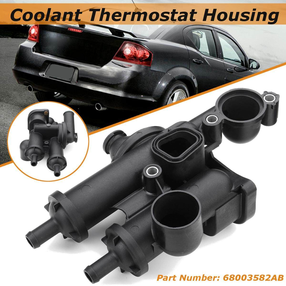 2016 Jeep Patriot Remote Engine Coolant Thermostat Housing For Dodge Avenger Journey Compass