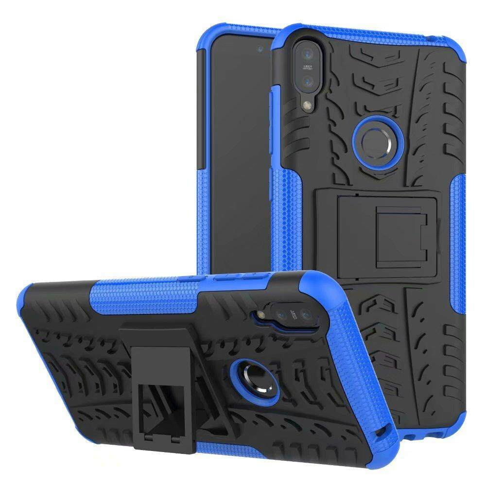 For Asus Zenfone Max Pro M1 ZB601KL Case Hard TPU+PC Armor with Stand Hybrid back Cover cases For Asus Max Pro M1 ZB601KL