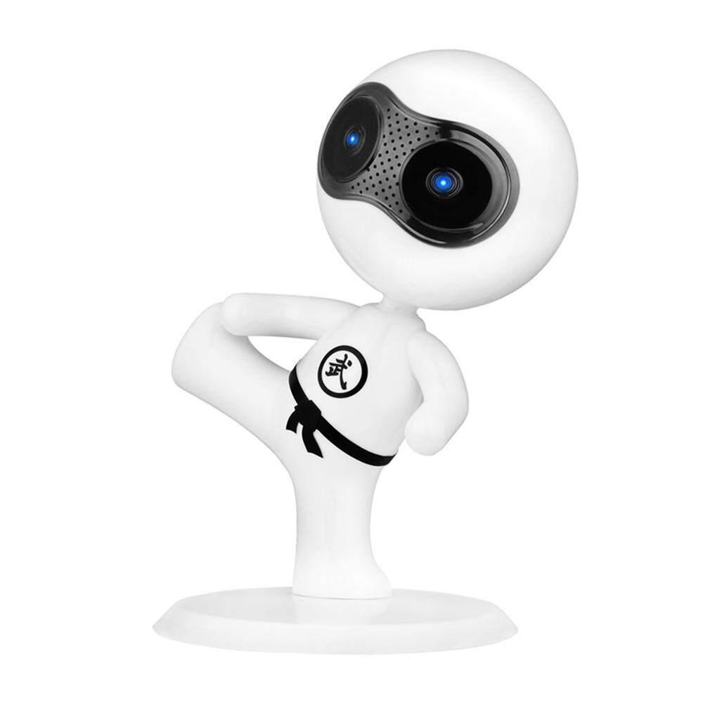 Honghui Mini Pembicara Komputer, USB 2.0 Kabel Pembicara Kecil Kung Fu Robot Dekorasi Desktop dengan Subwoofer untuk Buah, LAPTOP, Telepon, Tablet-Internasional