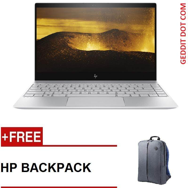 HP ENVY 13-AD173TU i5 NOTEBOOK (i5-8250u,4GB,256GB SSD,NO DVD,WIN10,13.3FHD,2 YEAR ONSITE WARRANTY) FREE HP BACKPACK Malaysia