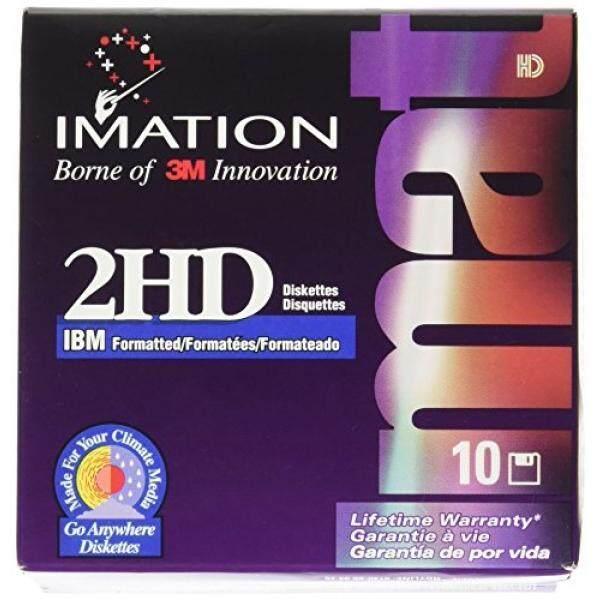 Media Kosong 3.5 Inch Floppy Documents, IBM-Diformat, Ds/HD 10/Box-Intl