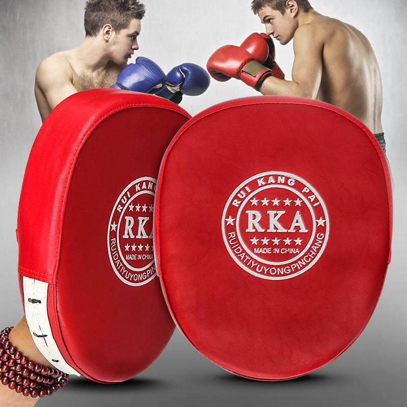 1pc Boxing Mitts Mma Target Focus Punch Pad Training Glove Karate Thai Kick Muay - Intl By Audew.