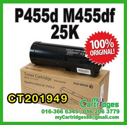 Original Fuji Xerox P455d M455df High Capacity  Toner - 25K CT201949 P455 M455