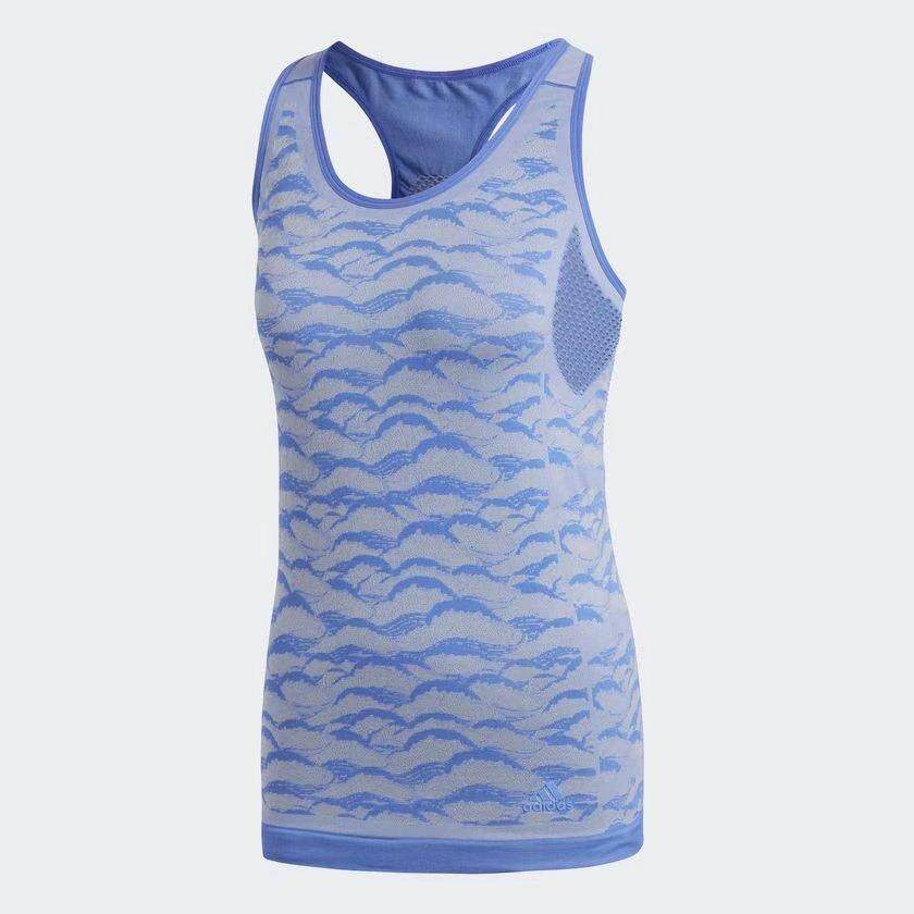 adidas Women ULTRA PY TANK Blue CF5138 S-XL 03'