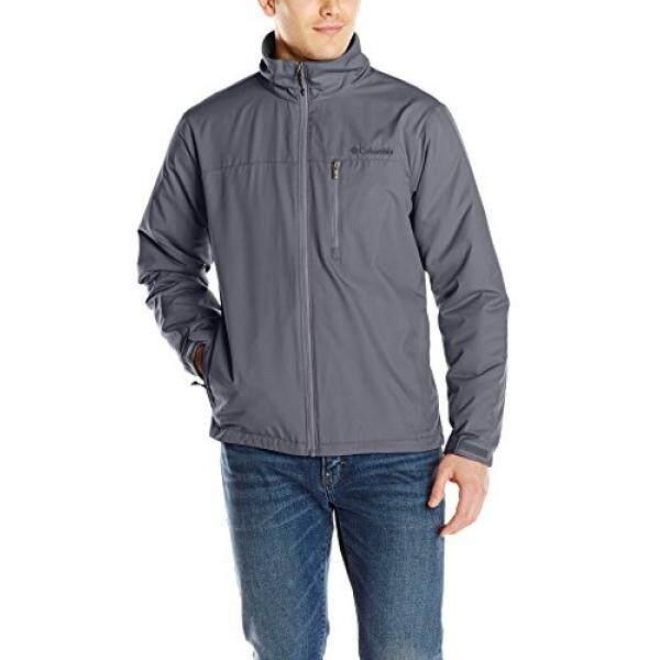 0f7ffa20f Columbia Mens Utilizer Jacket, Graphite, Medium
