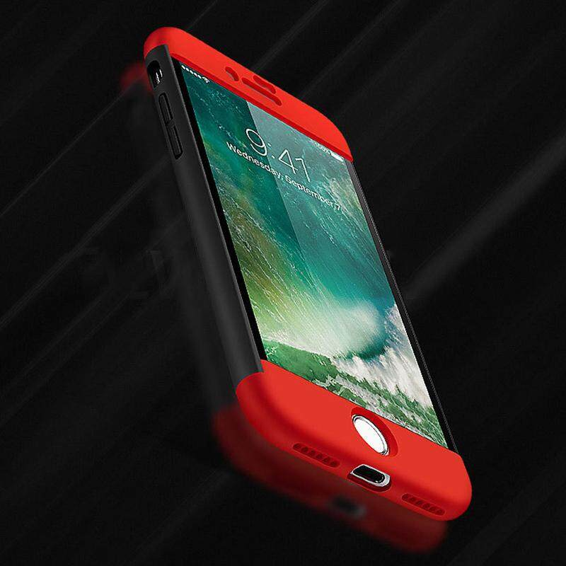 Qearl Shop 360 Full Cover Rear Case Shells Cover Dust Proof Anti Crash For iPhone7