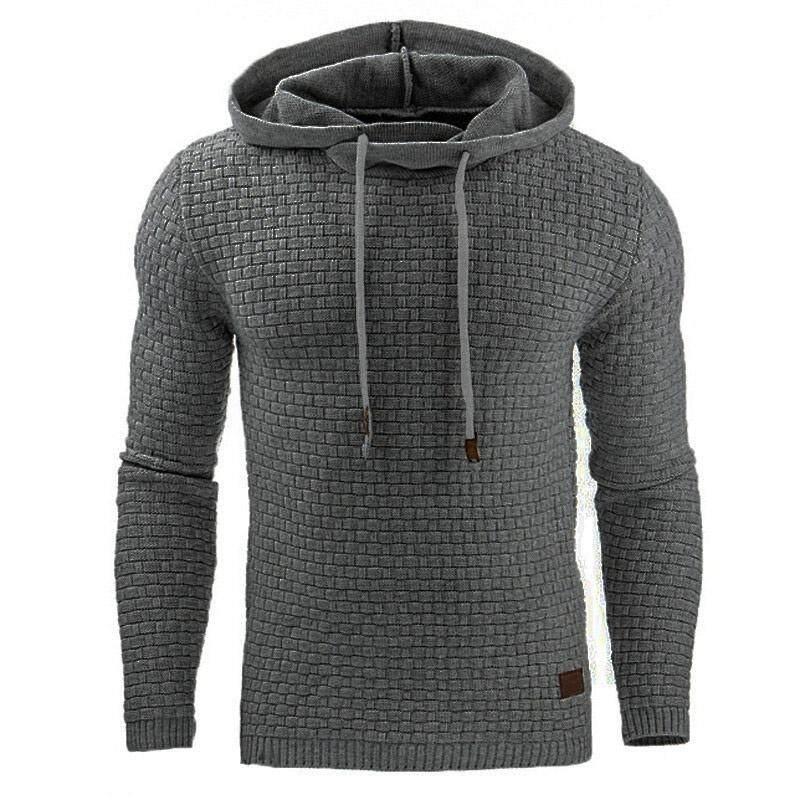Men s Winter Hoodie Warm Hooded Sweatshirt Coat Jacket Outwear Sweater f3a7e01ec4