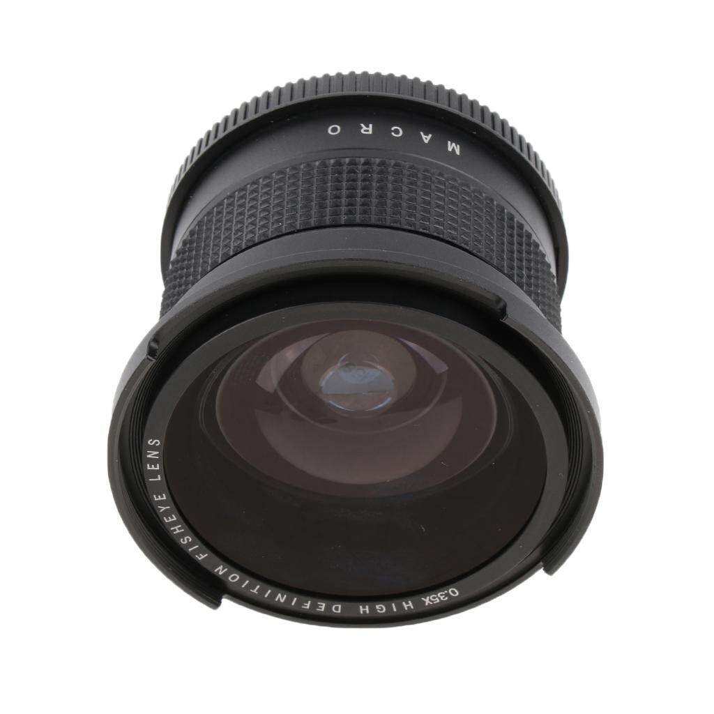 Miracle Shining 58mm 0.35x Wide Angle Fisheye Lens for Canon Rebel EOS 1000D T3 T4 T5 T6i