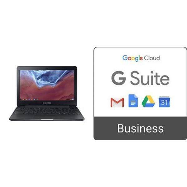 Samsung Chromebook 3, 11.6, 4GB RAM + G Suite Business Monthly Subscription - intl