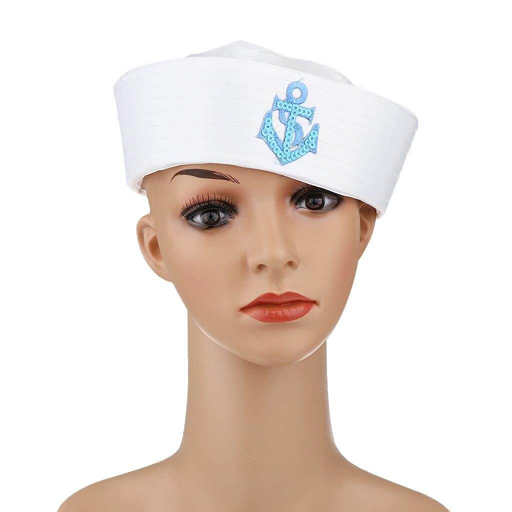 996983a2c05 MagiDeal Unisex Captain Sailor Hat Skipper Navy Marine Cap Kids Military Hat  Yacht Cap