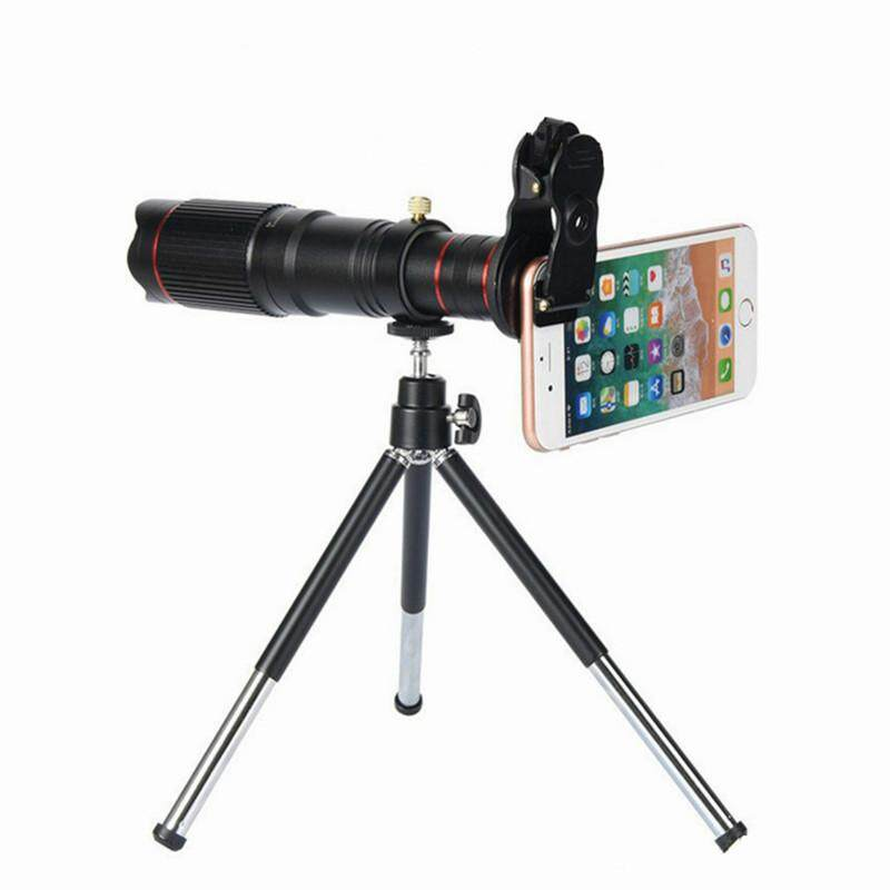 Universal HD 22X Telescope Zoom Lens for smartphone Optical Universal Clip Tripod For IPhone X 8