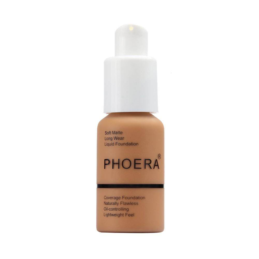 Lion New 30ml PHOERA Matte Oil Control Concealer Liquid Foundation Philippines
