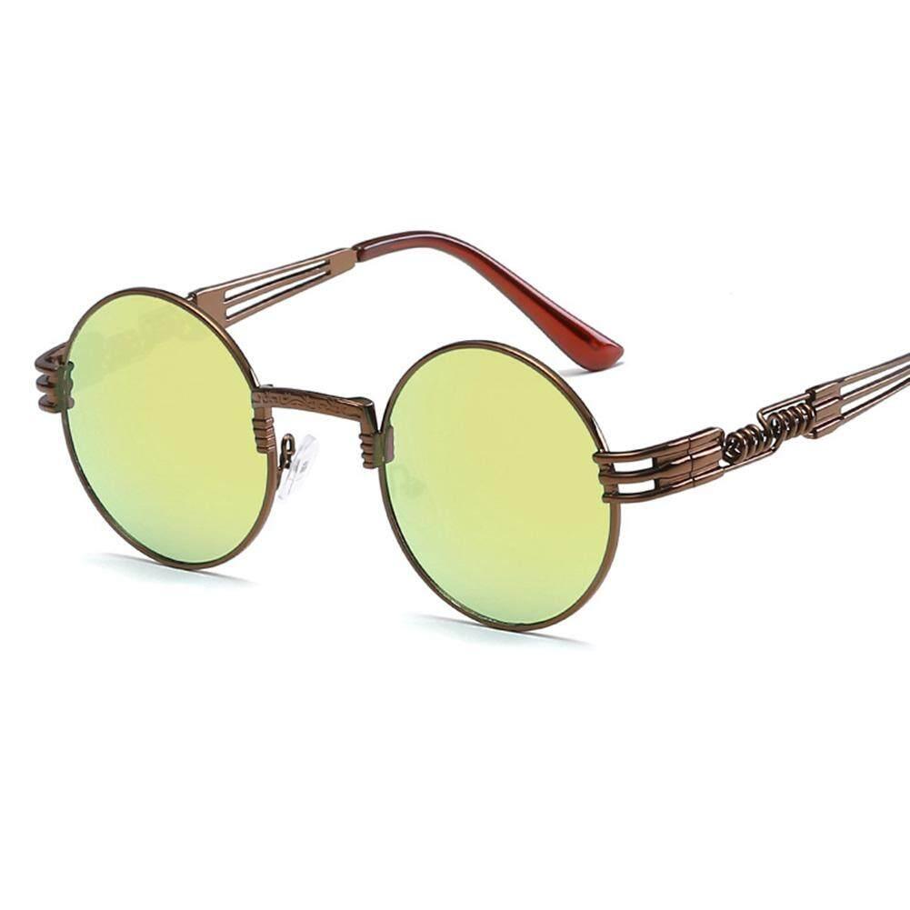 Qimiao Gaya Kacamata Hitam Terpolarisasi Musim Semi Kaki UV400 Bersih Visi Putaran  Bingkai Kacamata Lensa Warna b7ecbda5dd