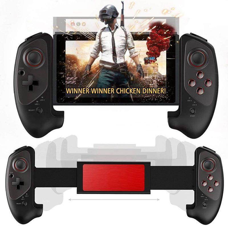 Redcolourful Retractable Wireless Bluetooth Game Controller Gamepad for Android / iOS / Nintend Switch / Win 7 / 8 / 10