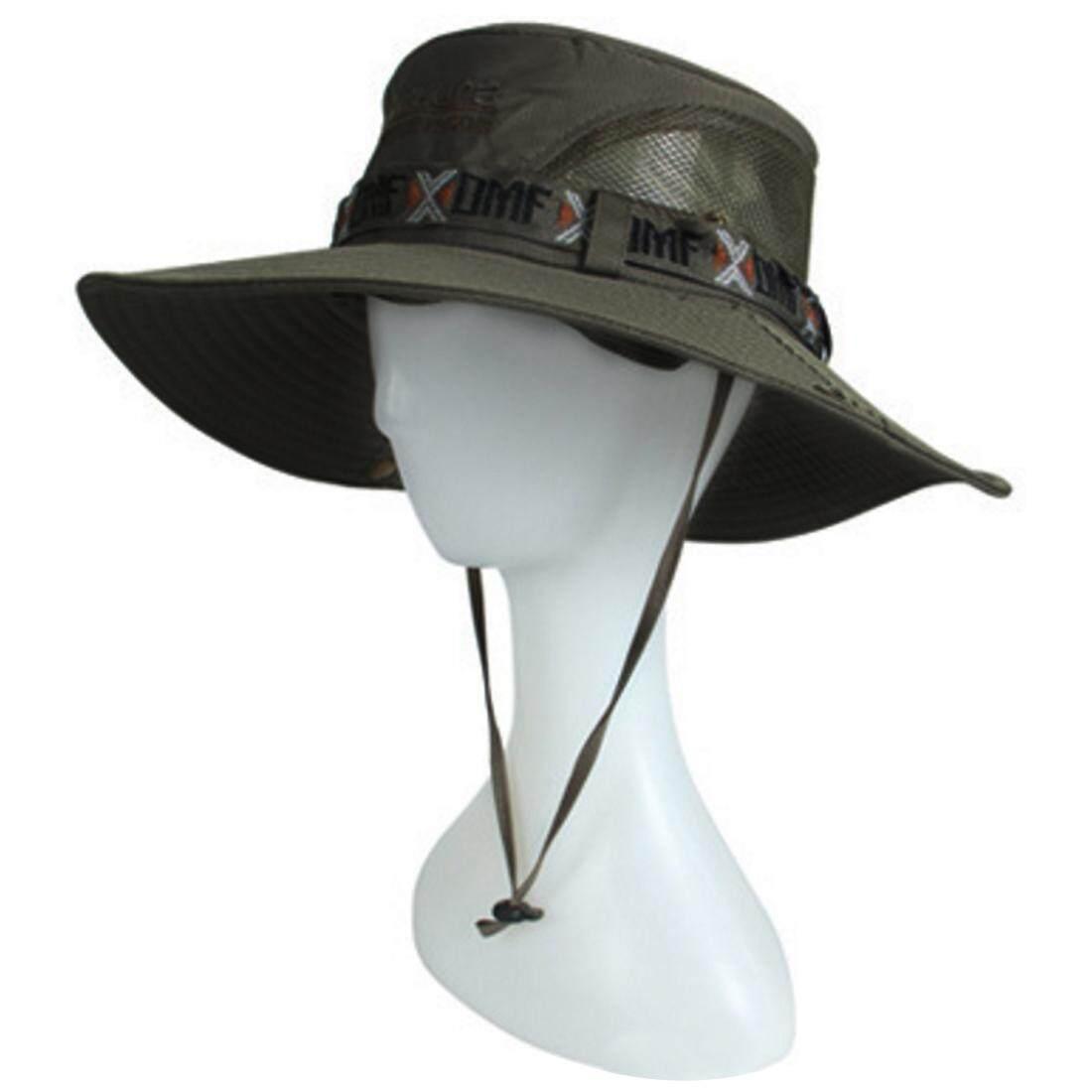 360 Ingin Orang Topi Pantai Topi Pelindung untuk Musim Panas Berburu Memancing Di Luar Ruangan Gurun