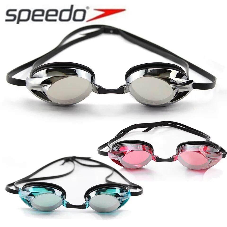 c7062d6bd6e Speedo Waterproof Anti-fog Eye swimming goggles Swim Glasses PC Lens  Silicone Strap