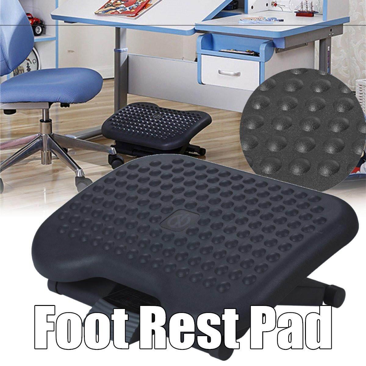 Angle Adjustable Premium Foot Rest Office Computer Desk Footrest Comfort