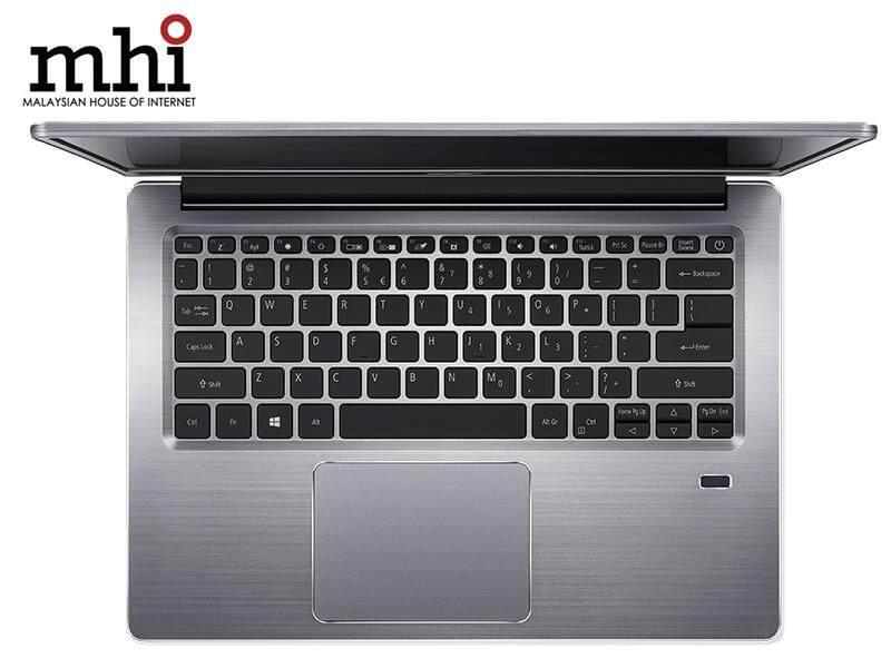 "Acer Swift 3 SF314-54-55JD 14"" FHD IPS Laptop Silver ( I5-8250U, 4GB, 128GB SSD + 1TB HDD, Intel, W10 )"