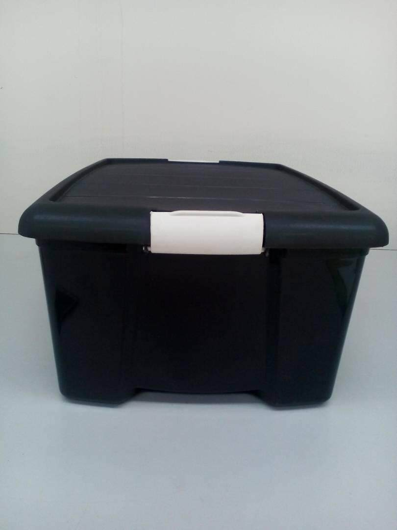 (OW) Sweethome 30 Lit Multipurpose Storage Box (Black)