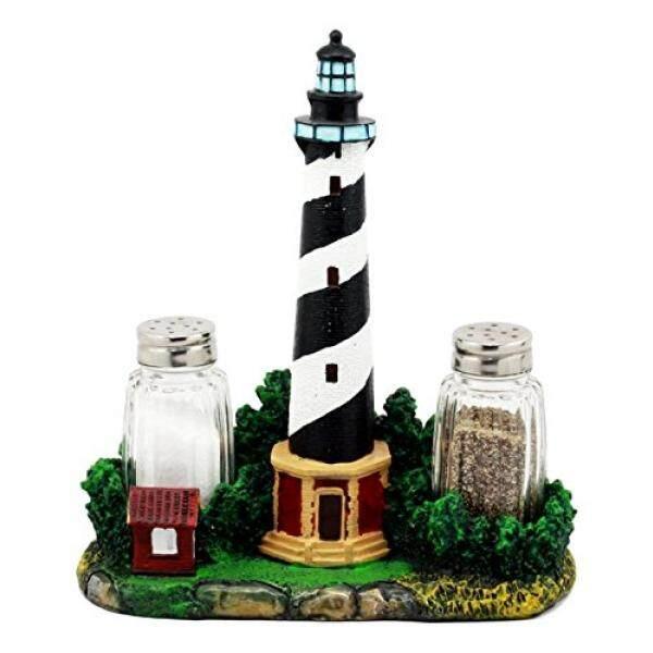 Tupperware Salt & Pepper Shaker Sets Ebros Scenic Cape Hatteras Lighthouse Salt And Pepper Shakers Holder Figurine 8