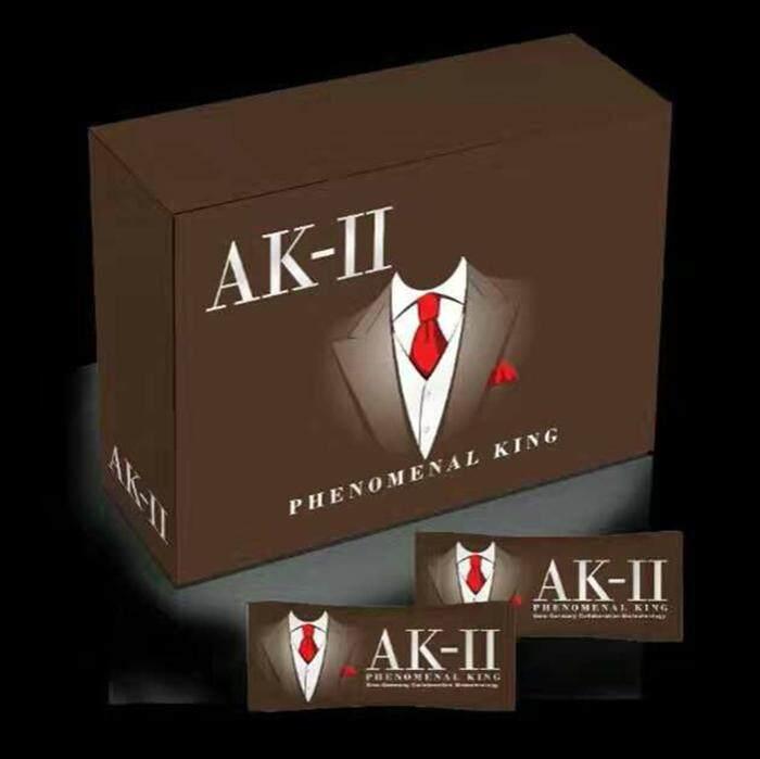 AK-II (k2) Phenomenal King AK2 男性之宝 (1 box / 20 男性之宝 (1 box/20 sachets x 4g) HALAL